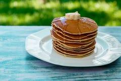 Блинчики, завтрак Стоковые Фотографии RF