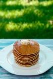 Блинчики, завтрак Стоковая Фотография RF