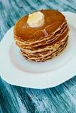 Блинчики, завтрак Стоковая Фотография