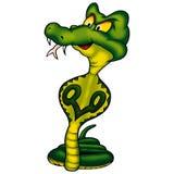 бдительная кобра Стоковое фото RF