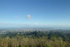 Бдительность верхних частей над городом Cebu, Cebu, Филиппинами Стоковое фото RF