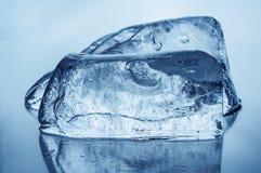 2 блока льда Стоковое Фото
