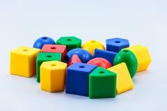 Блоки игрушки Стоковые Фото