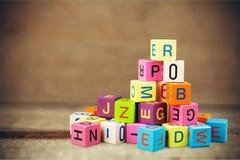 Блоки игрушки Стоковое Фото