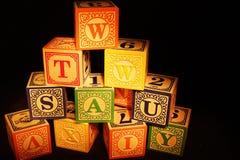 Блоки игрушки Стоковое фото RF