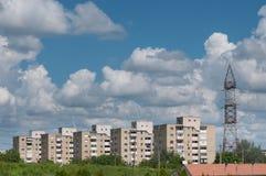 Блоки квартир Стоковая Фотография