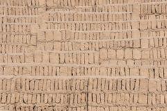 Блоки от Huaca, Miraflores Adobe, Перу Стоковая Фотография RF