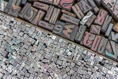 Блоки печатания Стоковое Фото
