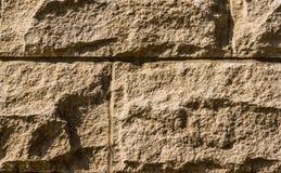 Блоки при Morter показывая зерно и тень и соединения стоковое фото