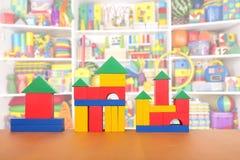 Блоки цвета на поле Стоковое Изображение