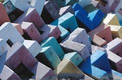 Блоки Accropode стоковые изображения