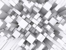 блоки 3d иллюстрация вектора