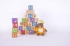 Блоки Playtime стоковые изображения