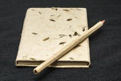 Блокнот и карандаш Стоковое Изображение RF