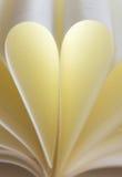 Блокнот сердца Стоковые Фото