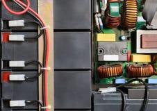 Блок батареи соединенный проводами Стоковое фото RF