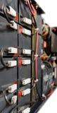 Блок батареи соединенный проводами Стоковая Фотография