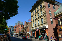 Блок Бостона Blackstone, Массачусетс, США Стоковое Изображение RF