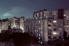 Блок восточной Европы квартир стоковые фотографии rf