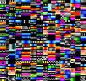 Блок, вселенная, шум, авария, цвет, радуга стоковое фото rf