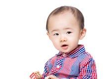 Блок игрушки игры ребёнка Азии деревянный Стоковое Фото