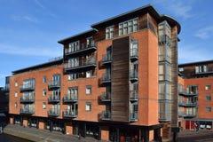 Блок квартир в Бирмингеме городском Стоковое Изображение