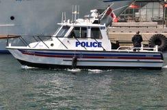 Блок морского пехотинца полиции Торонто Стоковое Изображение RF
