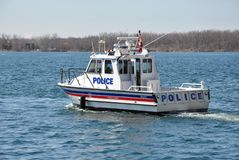 Блок морского пехотинца полиции Торонто Стоковое Фото