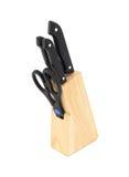 Блок ножа Стоковые Изображения