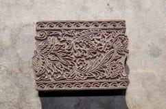 Блок печатания Стоковые Фото
