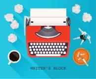 Блок писателей Стоковое Изображение