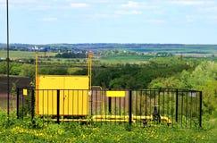 Блок распределения газа Стоковое Изображение RF