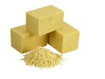 Блок сыра Стоковые Фото