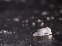 Блок льда на замороженном озере Стоковые Фото