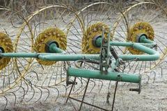 Блок для сгребать сено от металла Стоковые Фото