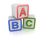 Блок Abc Стоковые Фотографии RF