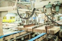 Блок Tieing в печатной машине Стоковая Фотография RF
