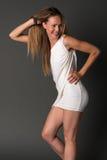 Блондинка Стоковая Фотография