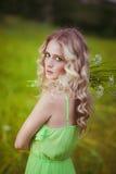 Блондинка Стоковые Изображения