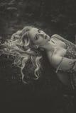 Блондинка Стоковое Изображение RF