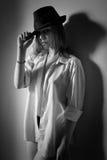 Блузка и шляпа Стоковые Изображения RF