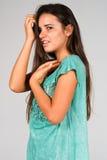 Блузка Teal Стоковое Изображение RF