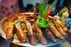 Блюда головы утки Китая стоковая фотография