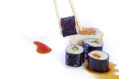 Блюда японца суш Стоковое фото RF