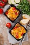 2 блюда vegetable сотейника Стоковые Изображения