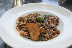 Блюдо лапши Kway Teow чарса Стоковые Изображения