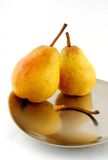 Блюдо груши Стоковое Изображение