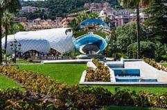Блюдо зеркала казино Монако стоковые изображения
