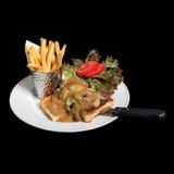Блюдо здоровой еды еды Стоковое фото RF