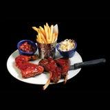 Блюдо здоровой еды еды Стоковая Фотография